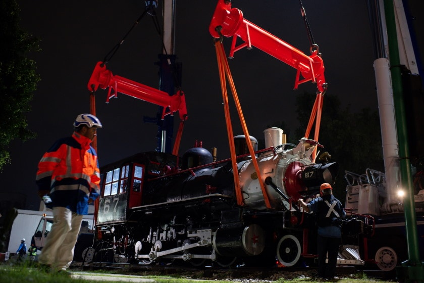 Locomotora Petra