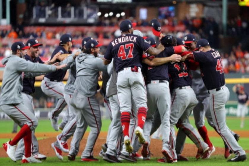 Nacionales ganan serie mundial 2019