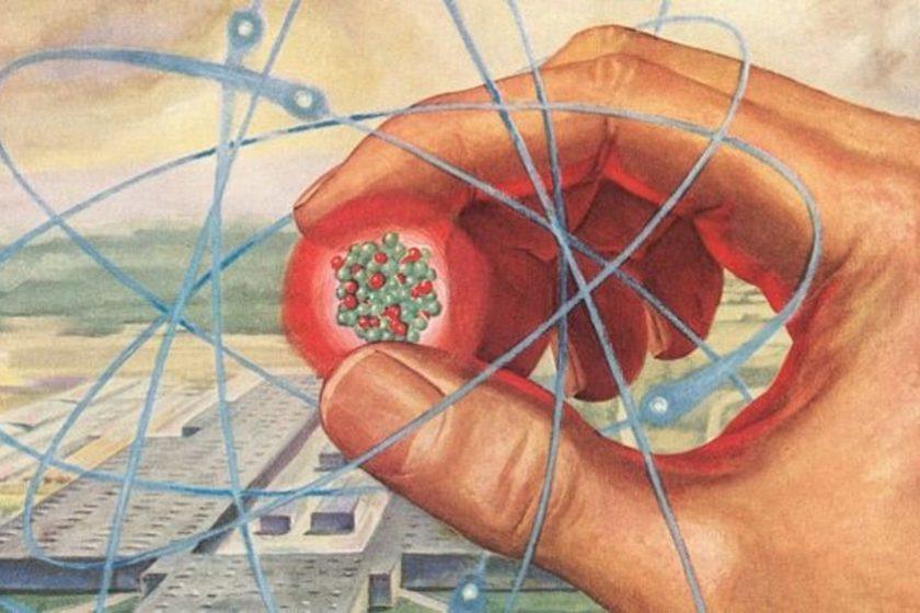 Átomo que descubre la quinta fuerza de la naturaleza