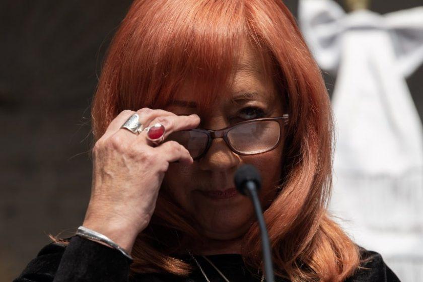 presidenta de la Comisión Nacional de los Derechos Humanos (CNDH), Rosario Piedra Ibarra