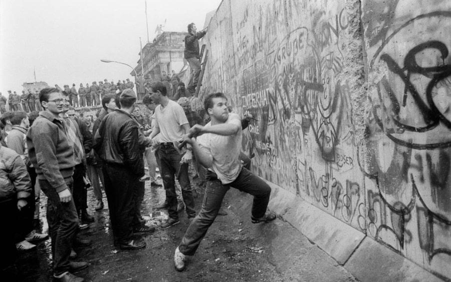 Caída del muro de Berlin 9 de noviembre 1989