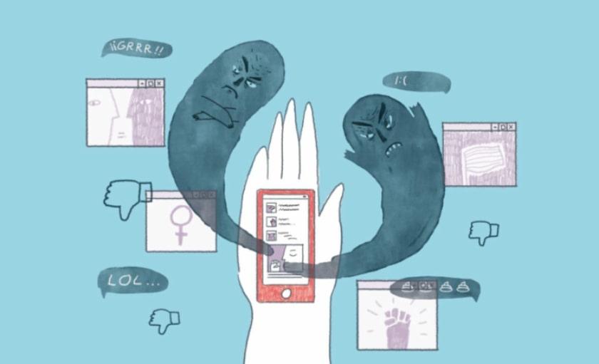 agresión en redes sociales