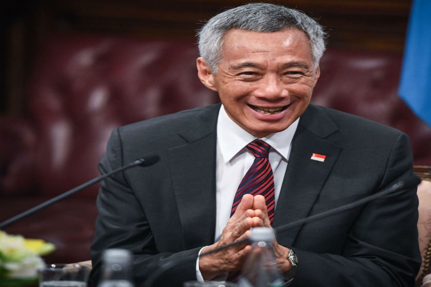 Lee Hsien Loong.