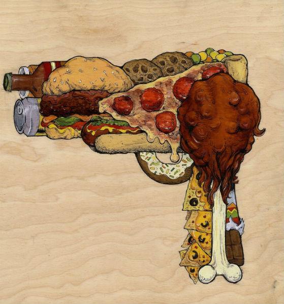Pistola chatarra.