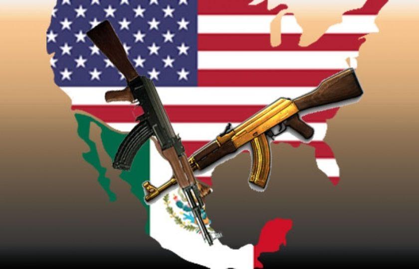 Tráfico de armas Estados Unidos a México
