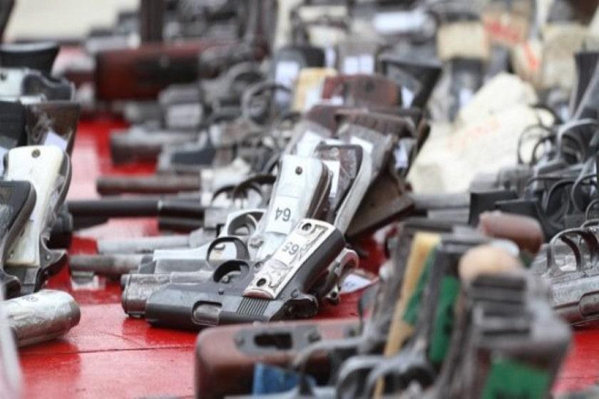 Trafico de armas en la frontera norte de México