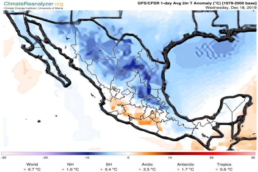frente frío_México