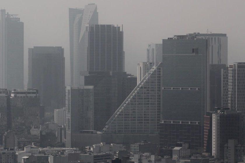 Nivel de contaminación en la Ciudad de México