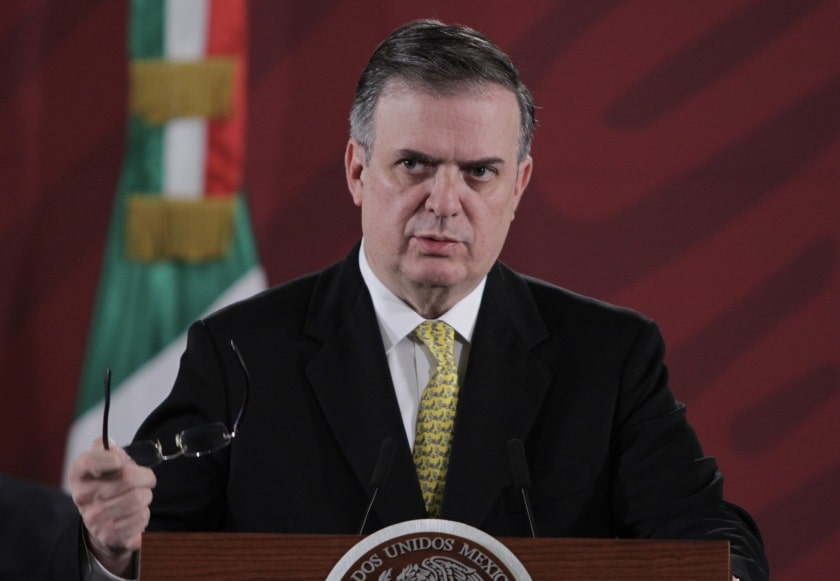 Marcelo Ebrard da Informe sobre migración al cierre de 2019