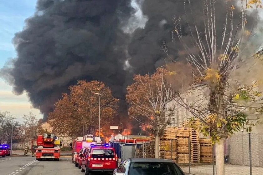 España_Incendio