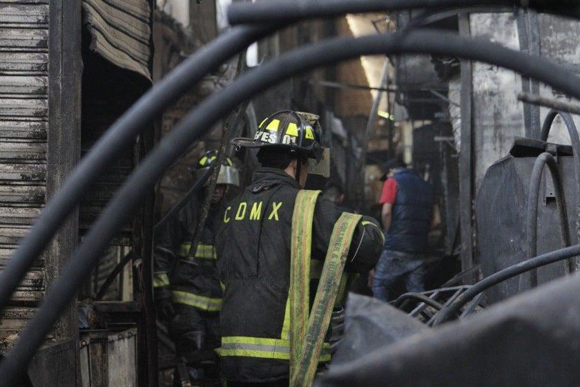 Incendio en La Merced 24 de diciembre