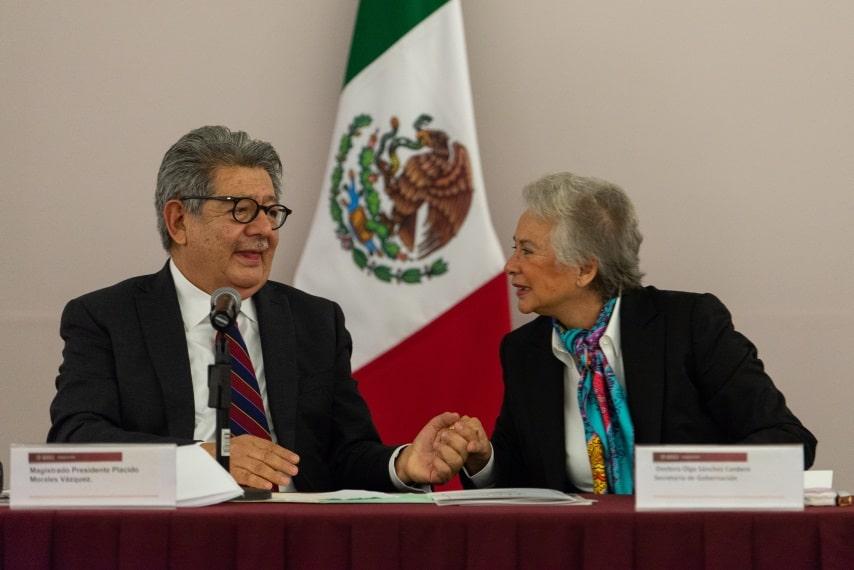 Plácido Morales Vázquez presidente del TFCA