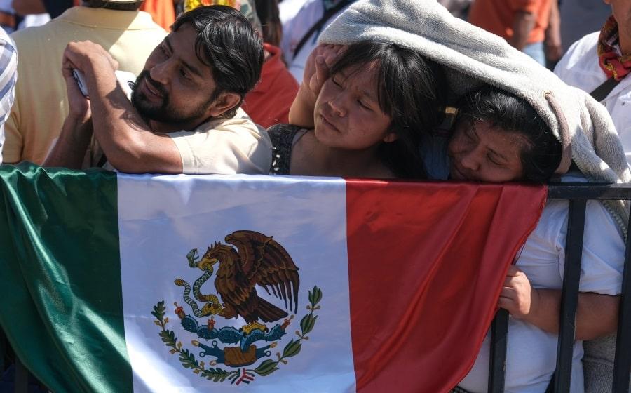 Discurso primer año de gobierno de AMLO en el Zócalo