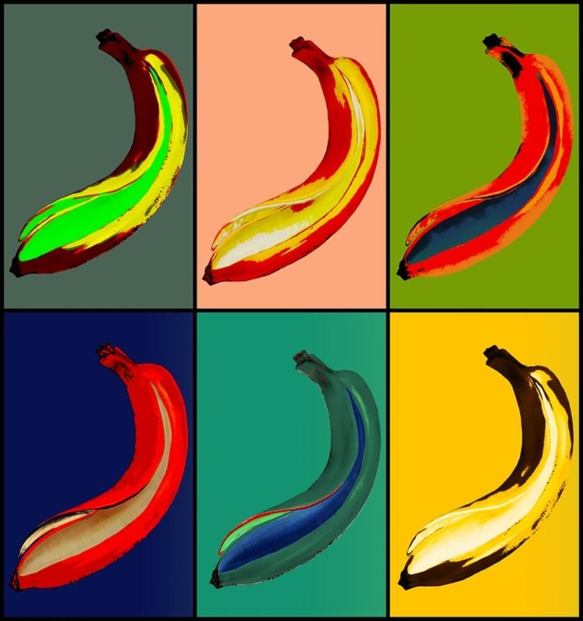 bananas y arte