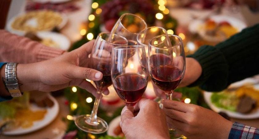 brindis cena de Navidad