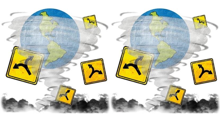 cambio en el mundo