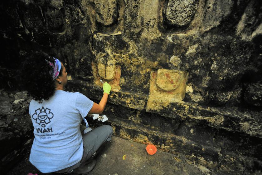 Descubrimiento arqueológico maya diciembre 2019