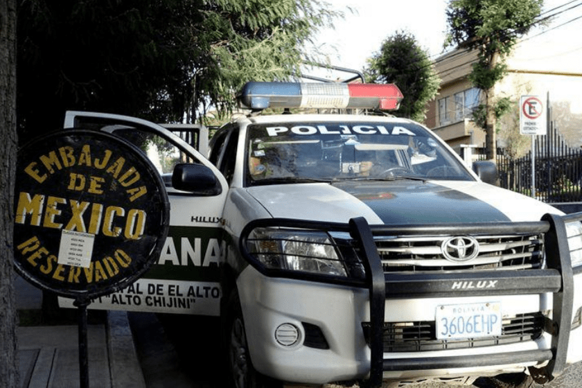 Relación diplomática México Bolivia