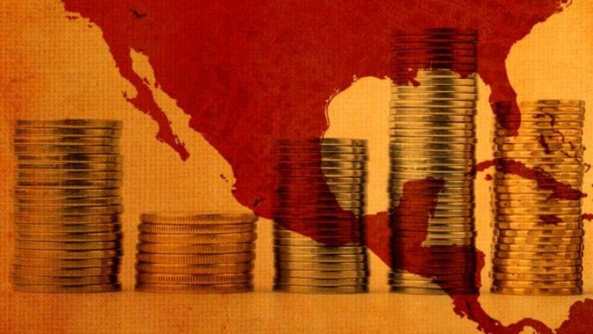 mapa de mexico, economia a la baja