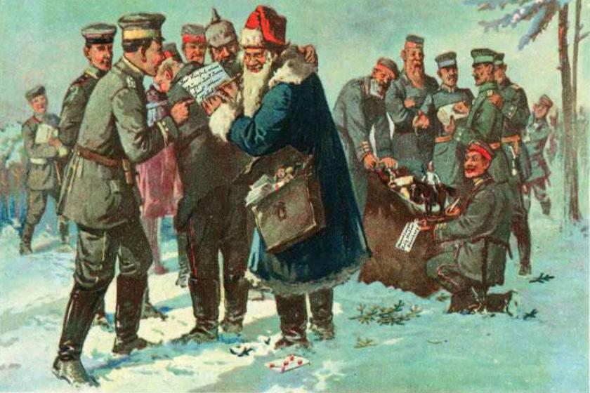 Navidad entre guerras