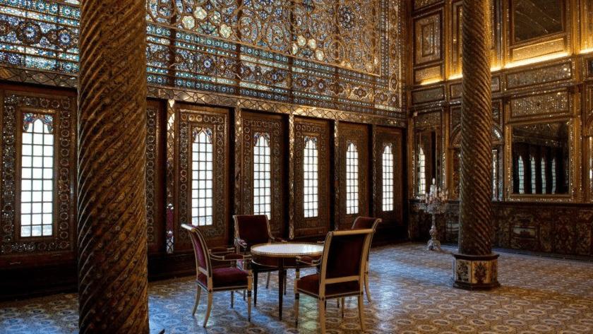 patrimonio cultural Golestan en Teheran