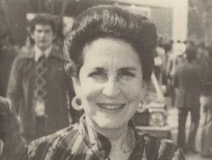 Griselda Alvarez sonriendo