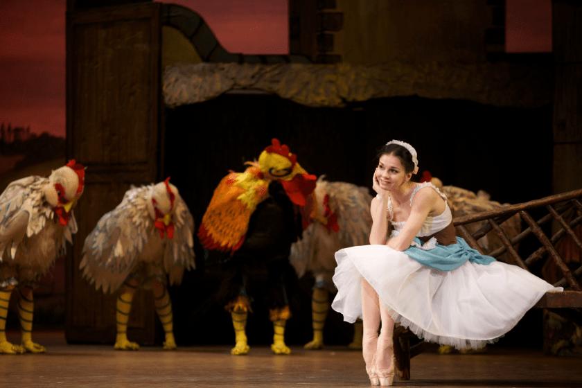 La niña malcriada ballet en la Ciudad de México