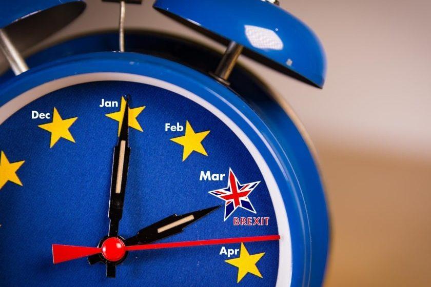 Brexit 2020 el día de la salida de Reino Unido de la Unión Europea