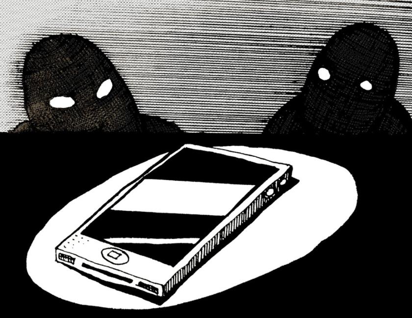extorsion y celular