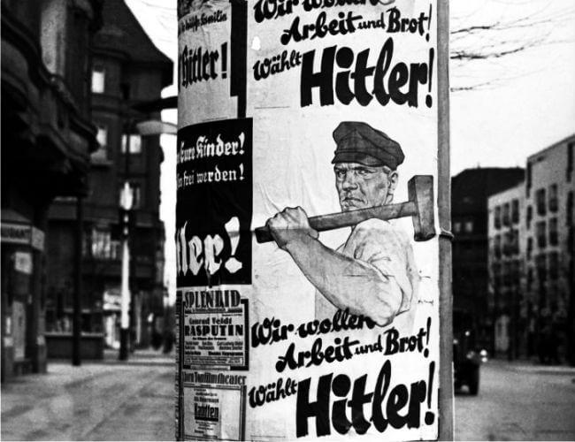 propaganda de los nazis