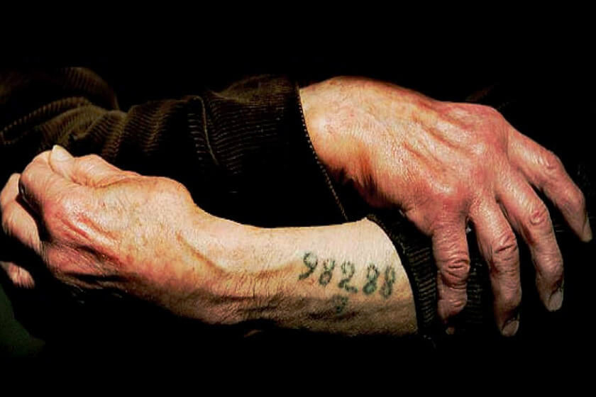 marcas de judio por nazis