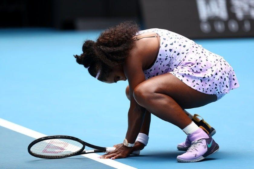 Serena Williams eliminada del Abierto de Australia