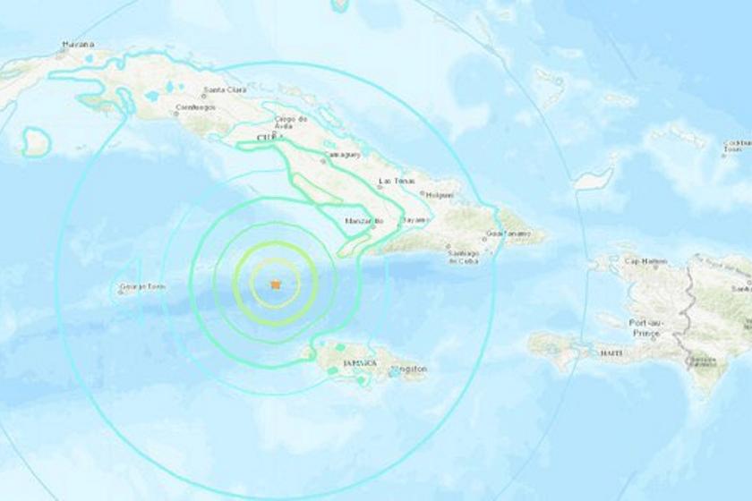 Videos del sismo en Cuba 2020