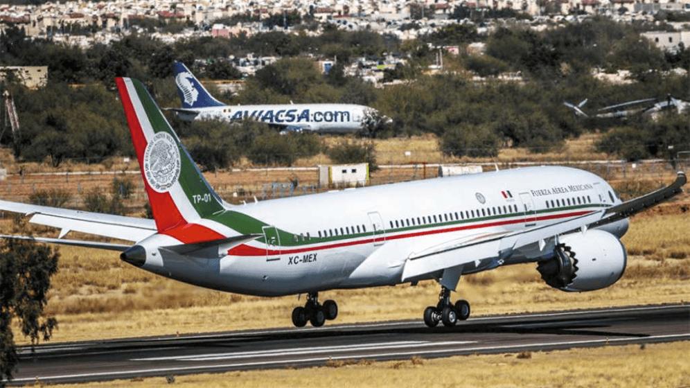 Avión presidencial rifa
