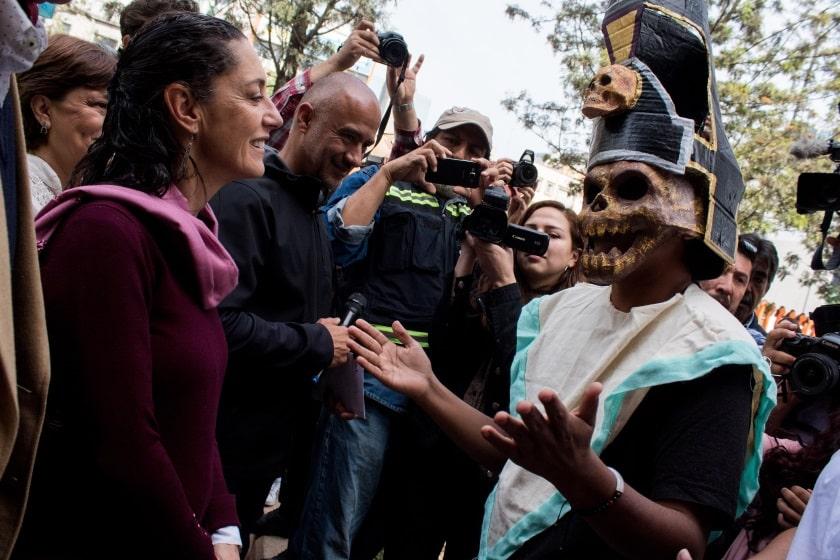 Claudia Sheinbaum encabeza evento en Avenida Chapultepec