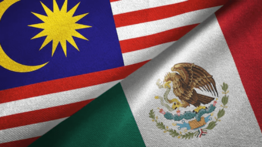 Malasia y Mexico