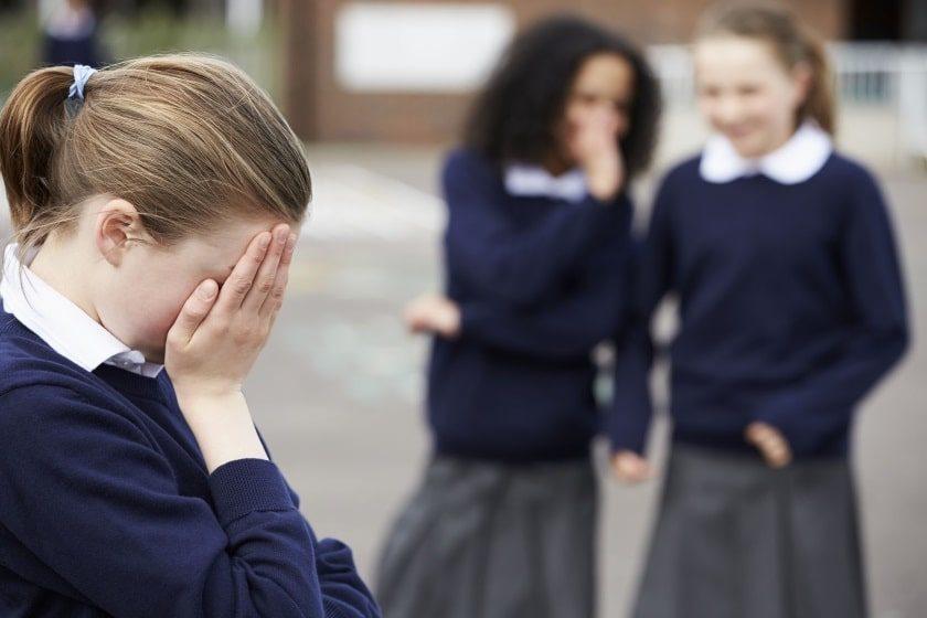 víctima de bullying escola