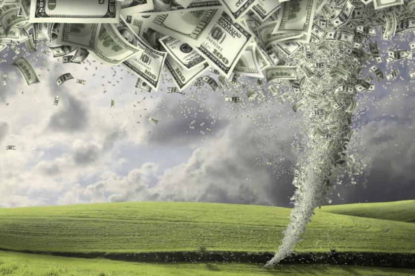 El cisne verde, la crisis financiera causada por el cambio climáticos