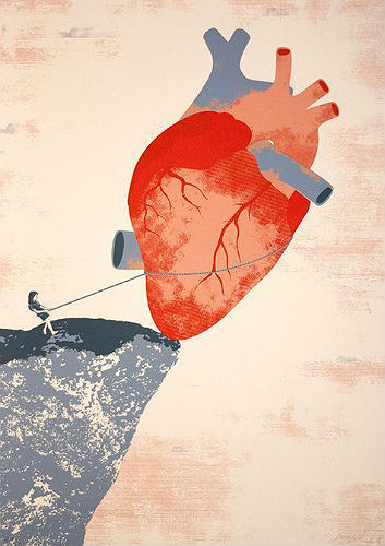 tiras del corazon