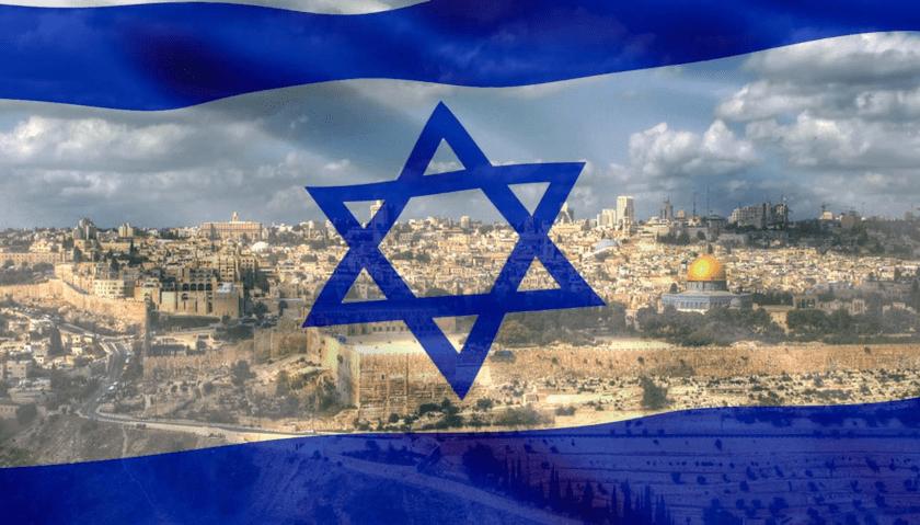 Jerusalem, bandera