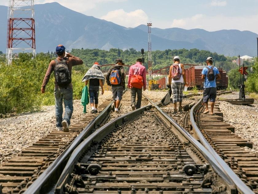 Flujo migratorio en México