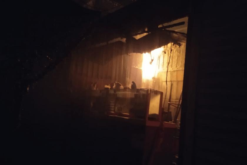 Incendio en Tepito