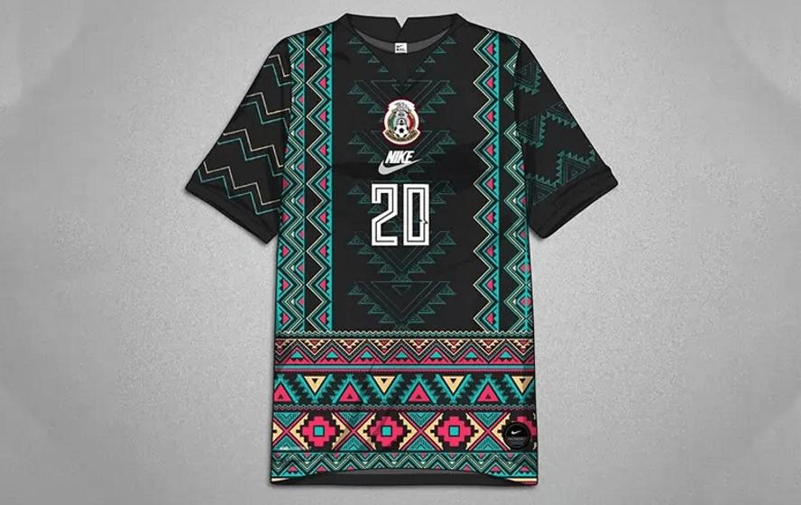 Jersey de la Selección Mexicana al estilo zapoteco