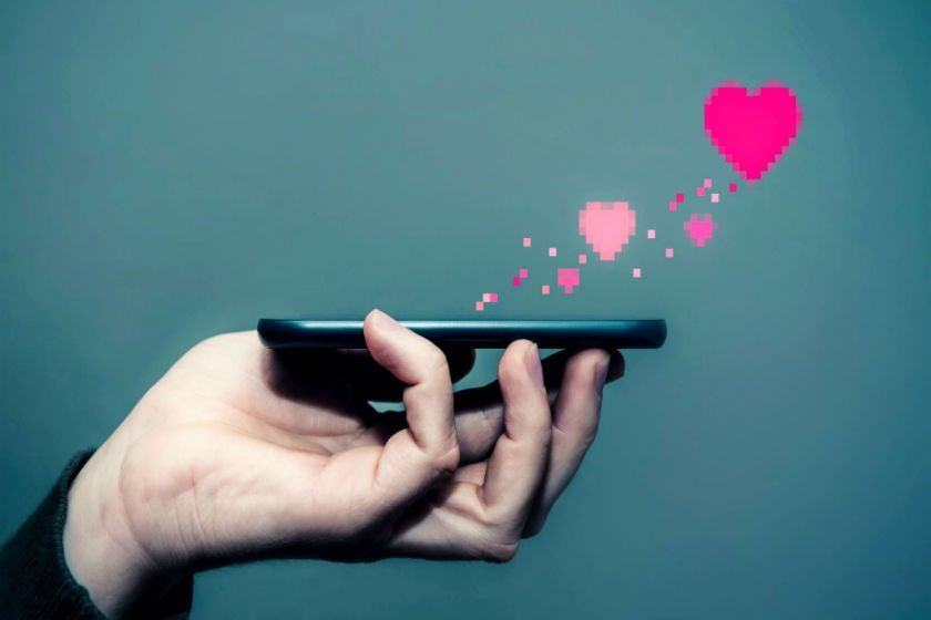 amor y desamor en internet