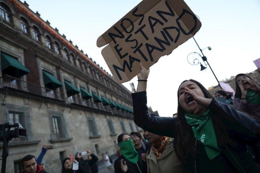 paro nacional de mujeres contra feminicidios
