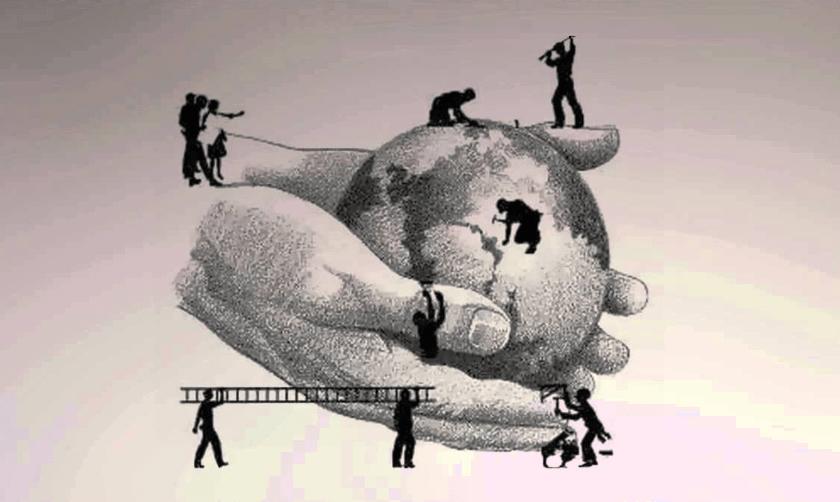 reparar el mundo