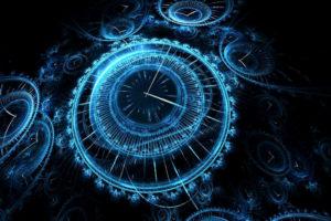 reloj espacio tiempo
