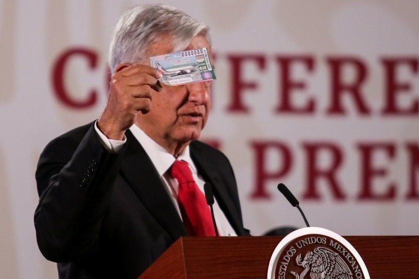 Venta de boletos para rifa del avión presidencial