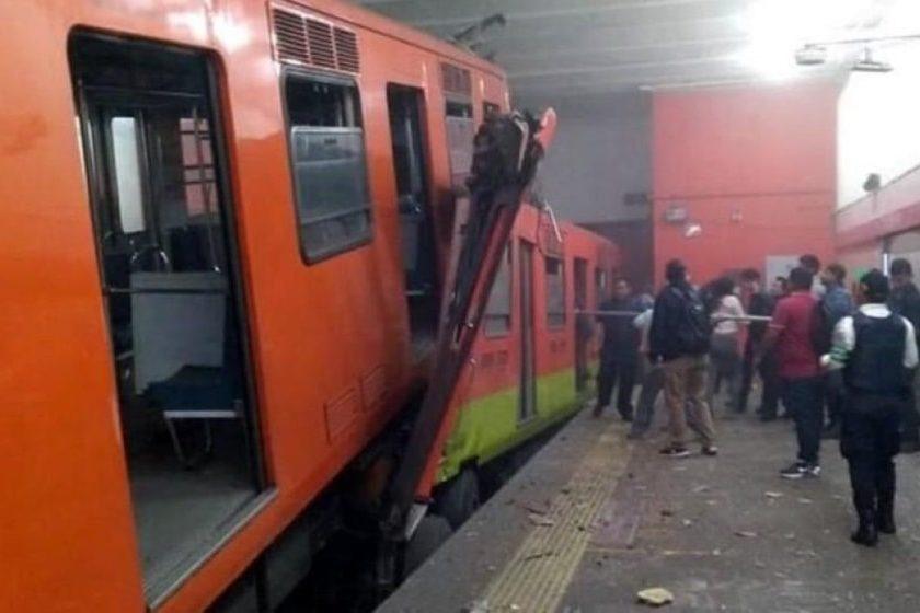 Accidente metro CDMX 2020