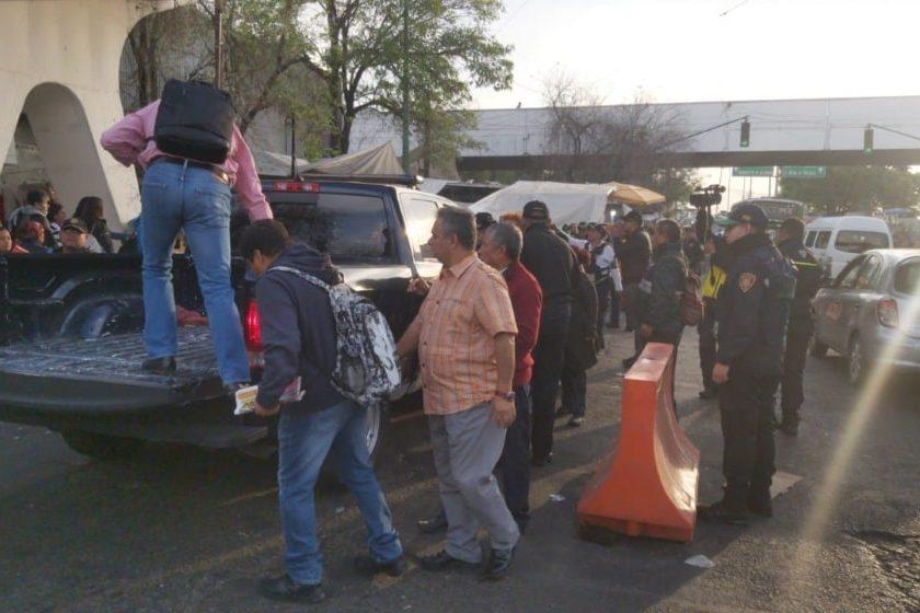 Cierre de estaciones y cambios en el transporte público por accidente en Tacubaya